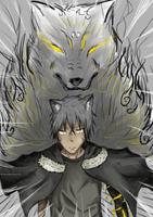 Fenris Wolf Spirit by Anomynousness
