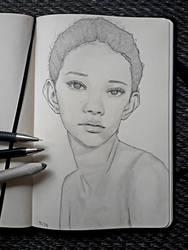 Girl with Big Ears by IamUman