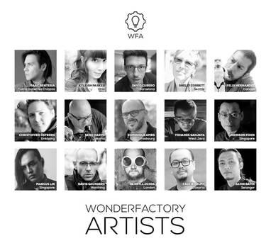 Wonder Factory Artists by ZahirBatin