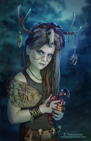 Voodoo.  Let's play dolls? by veravik
