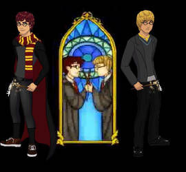 The Boys Who Lived ... Sorta by ZeldaQueen64