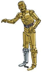 C3PO. by timpu