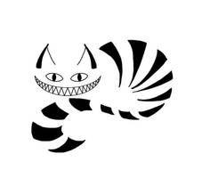 Cheshire Cat Tattoo 2 by CatONineTails