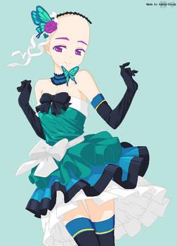 Base: Butterfly Princess by katsu-bases