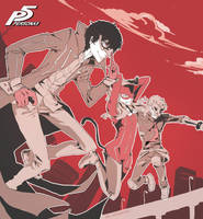 Persona 5: We ARE the crime by 9dl