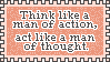 Action and Thought by EastSideSunsets