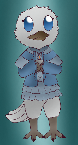 Dove the Kenku by Nero-Chan95