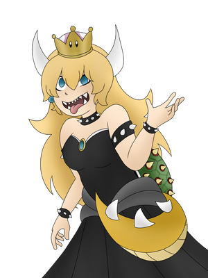 Bowsette by Nero-Chan95
