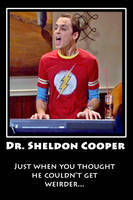 Sheldon cooper by Mallowolf