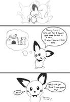 Selphy, the little Pichu (Pg. 3) by selphy6