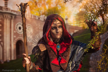 The Witcher 3 cosplay: Sunset by RenShuher