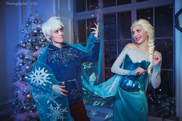 Elsa and Jack / Frozen x Rise of the Guardians / by RenShuher