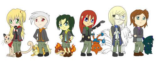Pokemon Ranger Team Design by Lugidog