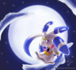 Lunar Rabbit by Lugidog