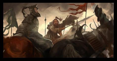 War combat I by latent-talent