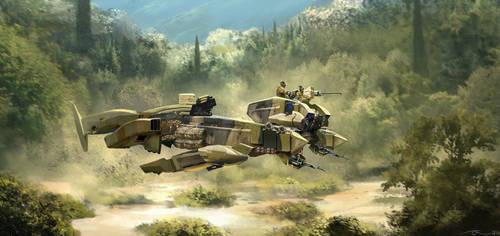Mech mini tank by latent-talent