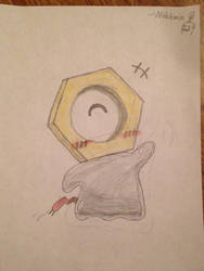 Meltan - The Hex Nut Pokemon by Wobbmin