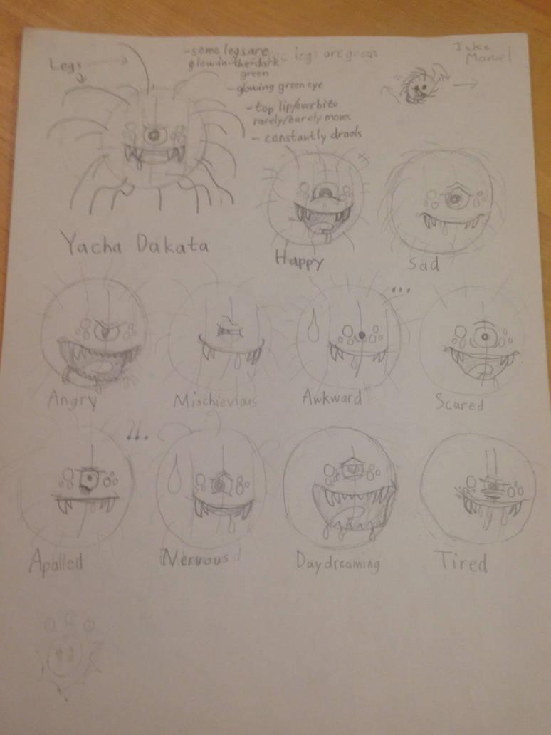 Character Concept - Yacha Dakata by Wobbmin