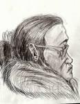 Starbucks Sketch Portrait by InsaneAsylum123
