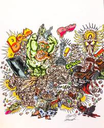 B.O.R.G. Pathfinder AD - Commission by InsaneAsylum123