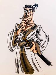 Sergio Aragons' Samurai Jack by InsaneAsylum123
