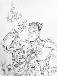 Batboy v Superduperman: The Yawn of Just-Us by InsaneAsylum123