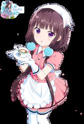 Maika Sakuranomiya Render by kuropoii