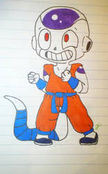Young frieza eager to learn! by Asguardiansilver