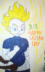 HAPPY SAIYAN DAY! 3/18 by Asguardiansilver