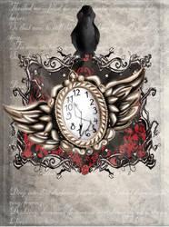 a clock by Madame-Brouillard