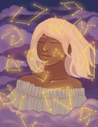 Stars by kirbaes