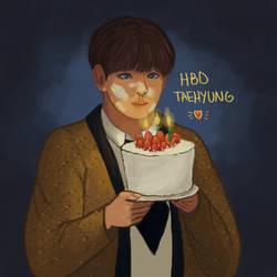 Happy Birthday Taehyung! by kirbaes