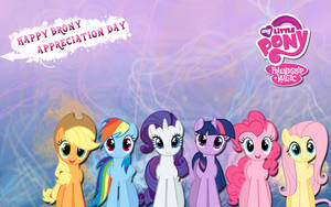 Brony Appreciation Wallpaper by M24Designs