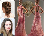 Hunger Games: Parade Outfit: -Lea by FlameFireheart