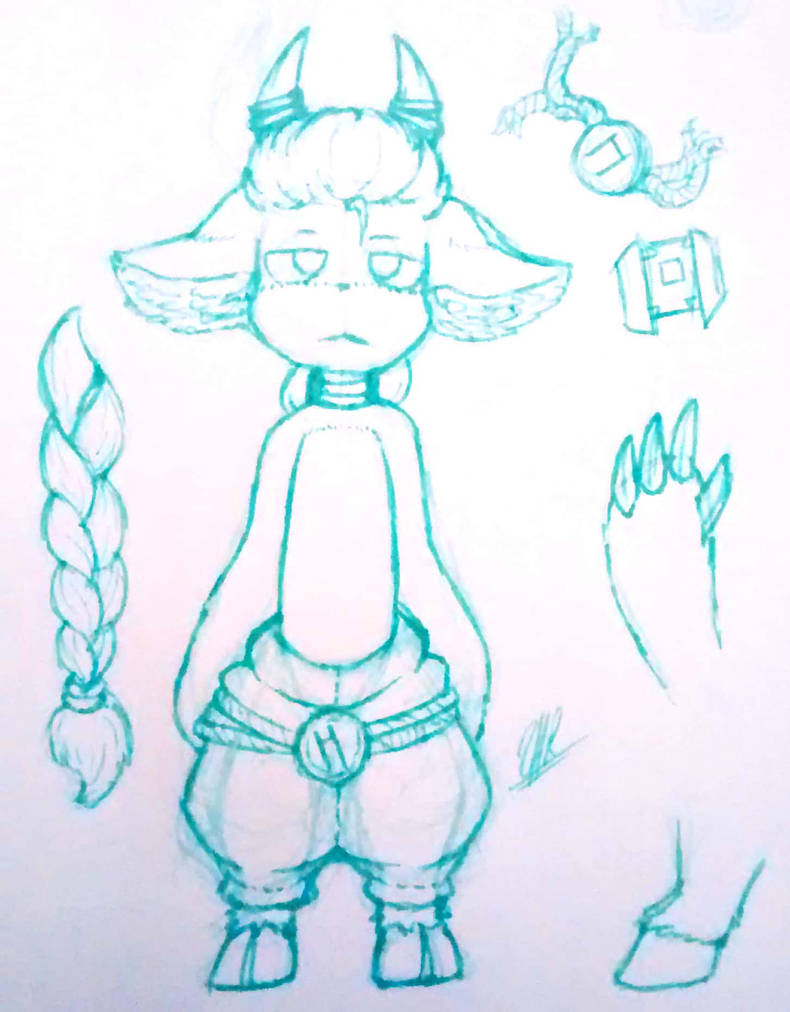 Rugo Sketch  by ShaeeArchoree