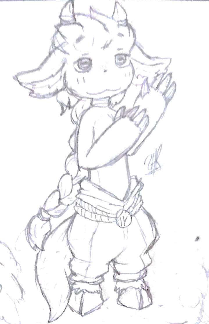 Another Rugo Sketch  by ShaeeArchoree