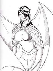 Katsucon Dragon Sketch by typezeroninja