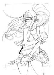 Pokemon Black N White by cyberunique