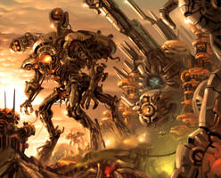 'machine arms' by noviant