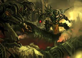 'final battle' by noviant