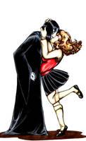 Kiss me, you stupid by Shimpa-chan