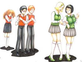 Dracos mision by Shimpa-chan