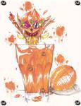 Day 2: Orange Juice by SomeMonsterFangirl