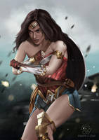 Wonder Woman by rikips