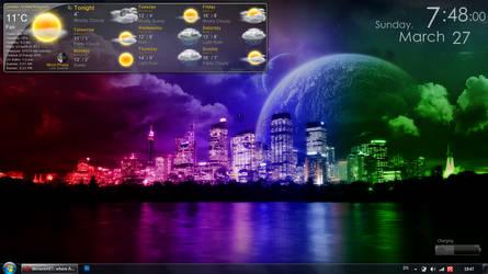 Desktop 27 March by GeorgeArtwork