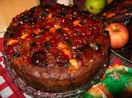fruit cake. by xfabiolaax