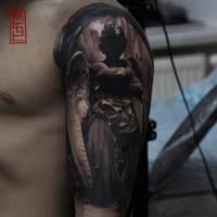 Angel by black-3G-raven
