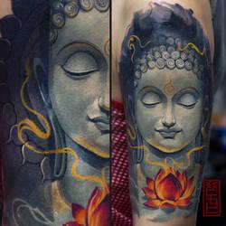 buddha by black-3G-raven