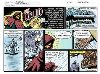 the Druid week-1 sunday-1 by hany-khattab