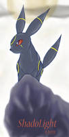 ShadoLight the Umbreon by AlieMey